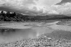 CIELO TERRA E ACQUA (GRAZIE PER LA VISITA) Tags: sky bw panorama chihuahua water landscape mexico monocromo bn cielo land terra acqua biancoenero messico sanignacio tarahumaraland