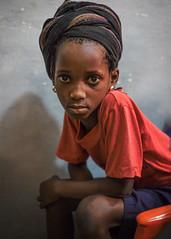 F5767 ~ Portrait of a little girl... #bissau (Teresa Teixeira) Tags: copyrightteresateixeira mundoasorrir guinbissau bissau school girl portraitofalittlegirl littlegirl child criana teresateixeira