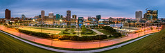 Good Morning Baltimore (LorenzMao) Tags: panorama usa building water playground port dawn boat cityscape waterfront pano citylife baltimore tallbuilding roadtriptobaltimore lorenzmaophotography