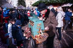 Love&Candy [EXPLORE] (Giobbanni79) Tags: people italy love colors kids market uncle grandfather places accordion gift bolzano mercatini mercatinibolzano
