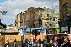 After the Hawley fire (Gary Kinsman) Tags: london camdentown nw1 fire 2008 water canonrebelxt canon350d canon1855mm destruction camdenhighstreet camdenlockmarket camden