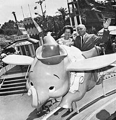 Dumbo the Flying Elephant, 1965 (Tom Simpson) Tags: vintage disneyland dumbo disney 1960s vacationland 1965 dumbotheflyingelephant vintagedisneyland vintagedisney