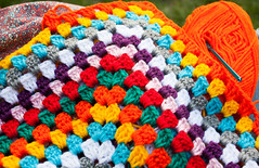 granny (Caro_Garzon) Tags: crochet granny manta tejido