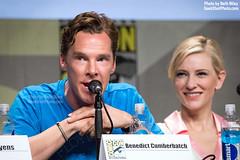 Benedict Cumberbatch (trekkiebeth) Tags: panel comiccon thehobbit sdcc 2014 sandiegocomiccon benedictcumberbatch