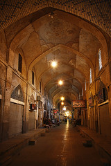 Vakil Bazaar (freakingrabbit) Tags: light architecture iran arcade grand persia shiraz bazaar bazar vakil zand perspecitve fars