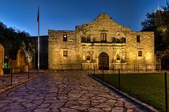 Blue Hour at the Alamo (Digital Traveler) Tags: morning sanantonio texas unitedstates landmark historic bluehour thealamo