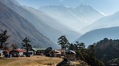 8k mountain view (Julio Phan) Tags: morning nepal mountain landscape khumbu everest lhotse tengboche sagarmatha 8k