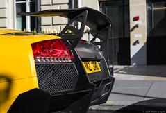 Lamborghini Murcielago SV. (JayRao) Tags: paris france 50mm nikon îledefrance fx lamborghini supercar sv murcielago jayr d610 superveloce lp670