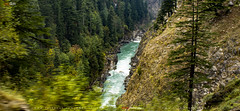 Up Above So High (AQAS) Tags: pakistan mountains nature beautiful river landscape waterfall scenery heaven village valley rivers streams kashmir neelum heavenlybeautiful