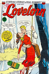 Lovelorn 47 (Michael Vance1) Tags: art artist anthology woman romance relationships love lovers man marriage dating comics comicbooks cartoonist silverage