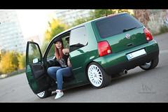 * (Henrik ohne d) Tags: portrait car vw oz katinka lupo ef85mmf18 eos5dmk2 may2016