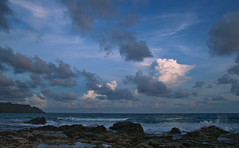 Havelock at Dusk (sphaisell) Tags: sky india beach clouds dusk indianocean andamanislands havelockisland