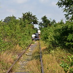Men on Bamboo Train in the Distance 1 thumbnail