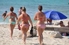 DSC_0217 (sheen_kosh) Tags: beach butt bikini formentera