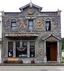 Historic building - Skagway Alaska (JLS Photography - Alaska) Tags: building alaska architecture facade outdoor historic skagway skagwayalaska jlsphotographyalaska