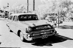 IR Chevy Test #3 (LXG_Photos) Tags: auto chevrolet film monochrome car chevy deepred eos3 escondido retro80s cruisingrand