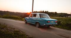 Classic 2101 (SeryyD) Tags: blue canon project eos low wheels latvia soviet classics static restoration lada act rebuild vaz ussr stance latvija latgale 2101  21013 40d   kraslava