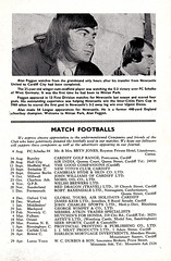 Cardiff City vs Burnley - 1971 - Page 9 (The Sky Strikers) Tags: park city two football official journal cardiff division league bluebirds programme burnley 5p ninian