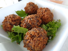 Boudin Balls, Chef Ron's Gumbo Stop (Deep Fried Kudzu) Tags: louisiana balls stop chef rons boudin gumbo metairie