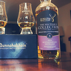 Gordon and Macphail Bunnahabhain 8 Years (TheWhiskeyJug) Tags: review whisky scotch singlemalt twj gordonandmacphail thewhiskeyjug bunnahabahin
