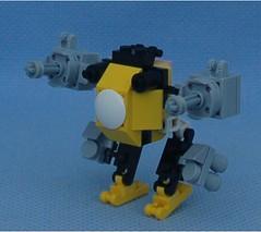 Bumblebee Pink (Mantis.King) Tags: lego scifi futuristic mecha wargames mech moc microscale legomecha mechaton mfz turdbot mf0 mobileframezero legogaming