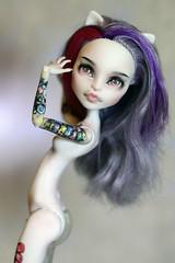 Katrine de mew (Emerald_Fairy) Tags: monster high doll ooak repaint dollphotography demew