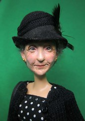 Jane 5, because I wanted a Miss Marple! (Dazi May) Tags: senior doll jane ooak