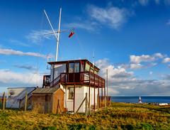 ''Coast Watch'' (marcbryans) Tags: portlanddorset portlandbill coastguard seascape nikond7100 tokina1116mm lighthouses ocean outdoors