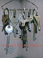 Bunch of old keys, Email icon, at symbol Concept (yogesh s more) Tags: door old abstract sign modern illustration mailbox computer keys design high ancient rust keyring key different technology open message close post graphic mail symbol antique steel object web internet rusty security icon email safety communication business website page send bunch precision access secure postal contact concept yale dust brass information sizes exclusive address postage mechanism stainless components correspondence metals mailing bending resists rustproof nickelsilver ultrakey