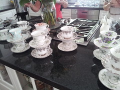 tea cups (Doe Eyed) Tags: bridalshower teacups hightea