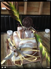 Rustic Australian Wedding Cake (AsheryW) Tags: wedding leaves cake gum rustic australian decorating marbled fondant gumnuts