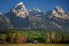 J. Manges Cabin and The Grand, Mt Owen and Tweewinot (wrtrekker (Jerry T Patterson)) Tags: park camping autumn sunset camp horse cloud lake west flower history fall sunrise canon river waterfall buffalo cabin nikon cowboy kayak tour photoshoot hiking wildlife parks grand moose hike jackson historic canoe trail western patterson 5d wyoming elk paragliding rv teton tetons bison wildflower moran grandteton jacksonhole oxbow d800 wrangler trailhead manges phototour oxbowbend mtmoran schwabacher 5dm3 mygearandme jamesmanges 5dmiii d800e