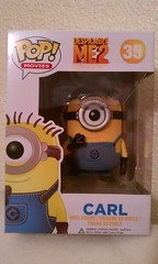 POP! Figure: Despicable Me 2 (Carl) (xClaribelx) Tags: toy pop figure minion despicableme2