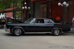 1966 Chevrolet Caprice (TeeMack.net) Tags: city yards west chevrolet district stock 1966 missouri bottoms kansas historical caprice teemack
