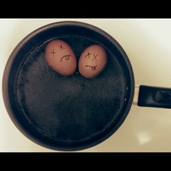 .only two eggs were harmed in the making of this photo. (darkhairedgirl) Tags: magichour