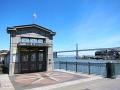 gate b (idontkaren) Tags: sanfrancisco bridge port bay baybridge embarcadero ferrybuilding gateb