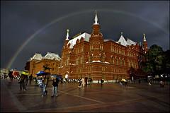 rainbow (dmitry_ryzhkov) Tags: film rain analog 35mm rainbow russia moscow canonfn fd243535l