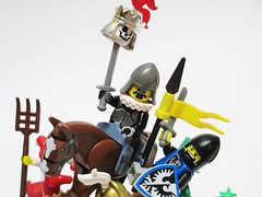 New King (Julius No) Tags: 3 castle war king lego hill contest battle single balance category stud entry