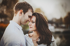 M&A (Yuliya Bahr) Tags: portrait woman man love engagement together lovestory