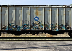 BAER (Electric Funeral) Tags: railroad art digital train canon photography graffiti midwest nebraska paint railway iowa fremont kansascity railcar missouri lincoln kansas traincar omaha graff aerosol freight desmoines baer freighttrain btr councilbluffs benched benching xti freighttraingraffiti