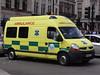 E-zec Ambulance Service Renault Master Emergency Ambulance (PFB-999) Tags: london square trafalgar ambulance master vehicle service van emergency unit strobes renualt rotators ezec bbs07 rx58azn