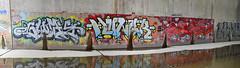 quickage-DSC_0762-DSC_0764 v2 (collations) Tags: toronto ontario graffiti smug osker hungr