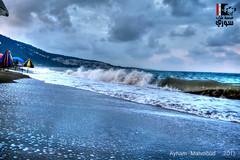 -     -  | Mad of Sea - Wadi Qandil - Lattakia (Young syrian's Lens -   ) Tags: winter sea water waves syria wadi siria  lattakia  latakia        qandil