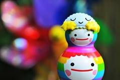 Sleepy time Rainbow Fun (Lawdeda ) Tags: friends true toys with mask you sleep chub buddy kawaii come crush