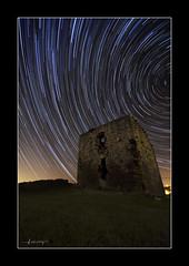 Vibrance (Jacobo Rodriguez) Tags: nikon torre asturias estrellas castillo candas startrails nocturno vibrance asturies ruby3 jacoborodriguez prendes