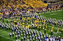 Michigan Stadium - Ann Arbor, MI (JayCass84) Tags: camera college sports beautiful sport photography photo football flickr stadium michigan awesome crowd annarbor bowl tradition flick wolverines goblue instagram instagramapp beatnotredame
