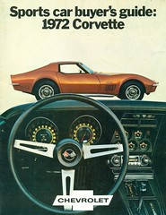 1972 Chevrolet Corvette Coupe and Dashboard (coconv) Tags: pictures auto old classic cars chevrolet car vintage magazine ads advertising cards photo flyer automobile post image photos antique postcard ad picture images advertisement vehicles photographs chevy card photograph postcards vehicle dashboard autos collectible collectors 1972 brochure corvette 72 coupe automobiles dealer prestige 454