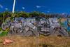 ASOE (TheLost&Found) Tags: blue sky urban color art beautiful minnesota photography graffiti paint day painted exploring minneapolis fisheye explore production af graff burner dmt btms cik btm upsk asoe