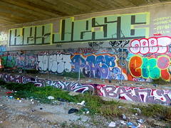 UNKNOWN (415 GRAFFITI) Tags: sf graffiti san francisco peace banjo enigma wd depht deej kex reak jesc topest