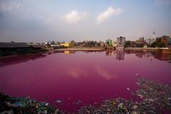 Apocalypscape (Catch the dream) Tags: landscape pollution dhaka bangladesh tannery runoff toxicity healthhazard environmentalhazard hazaribag leatherindustry hajaribag chemicalrunoff